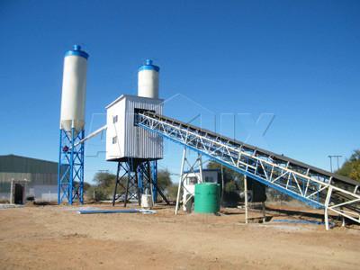 HZS 60 Planta de hormigón (60m3 / h)