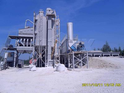 ALQ120 Planta de asfalto fija(120 t/h)