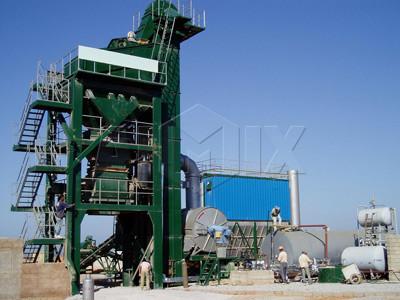 ALQ40 Planta de asfalto fija(40 t/h)