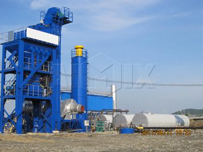 ALQ80 Planta de asfalto fija(80 t/h)