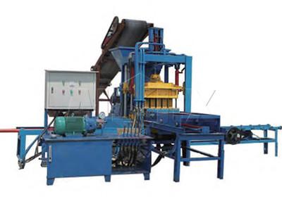 Planta de ladrillo de hormigón semiautomático ABM-8S