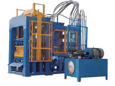 Máquina de ladrillo de hormigón automático ABM-12S