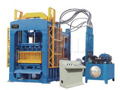 Máquina de ladrillo de hormigón automático ABM-10P