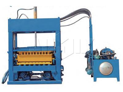Máquina de ladrillo de hormigón automático ABM-5S