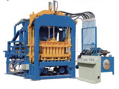Máquina de ladrillo de hormigón automático ABM-4A