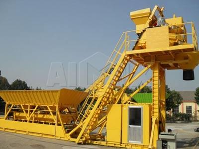 YHZS 25 Planta de hormigón móvil (25m3 / h)
