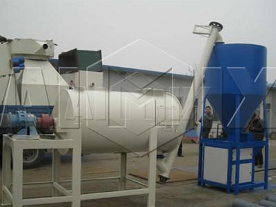 planta de mortero seco semiautomático(6T/H)