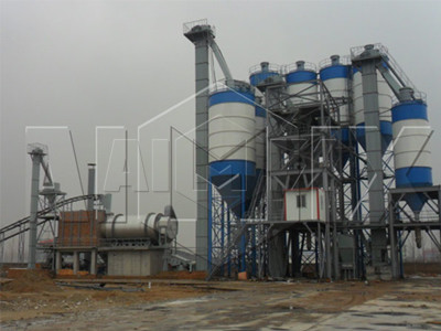 planta de mortero seco (40T/H)