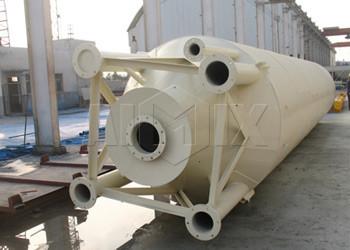 Silo de cemento soldado 30T