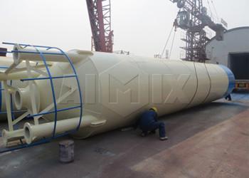 Silo de cemento soldado 100 ton