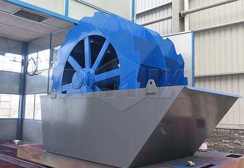 Lavador de arene tipo de ruedas serie XS