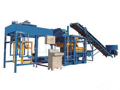 Planta de ladrillo de hormigón automático ABM-10S