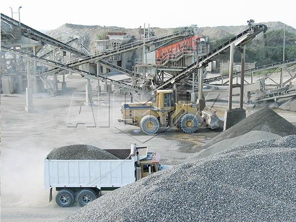 AIMIX ofrece planta de trituración, planta móvil de trituración, trituradoras.