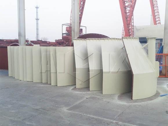 Fabricante de siloos atornillados, silos soldados, para almacenar cemento, cenizas volantes, grano, etc.