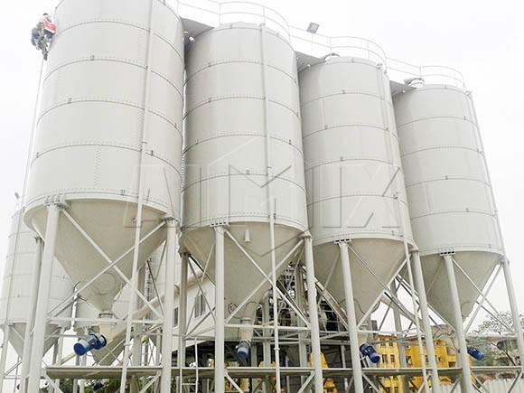 AIMIX ofrece silos de almacenamiento de cemento en venta