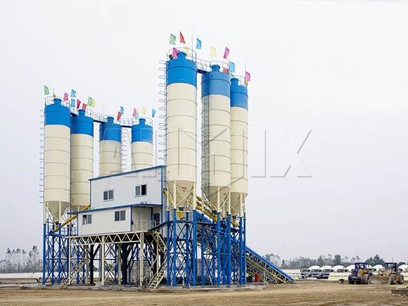 Fabricante de planta de hormigón tipo fijo/estacionario